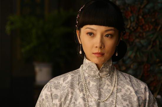 资料图片:国家话剧院女演员--陈数