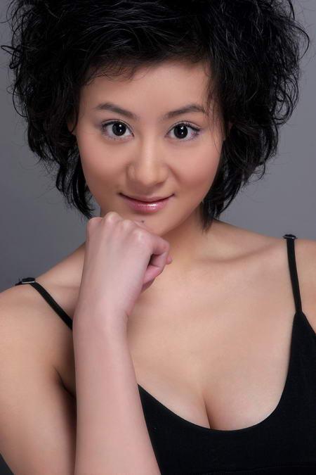 资料图片:国家话剧院女演员--马姗姗
