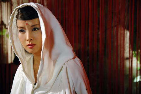 资料图片:国家话剧院女演员--谢兰