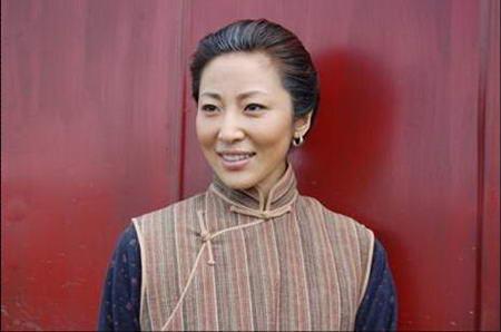 资料图片:国家话剧院女演员--赵瑞