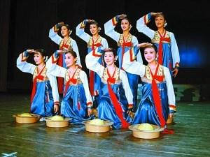 """朝鲜国宝级艺术团体将来深""""金达莱""""月底怒放"""
