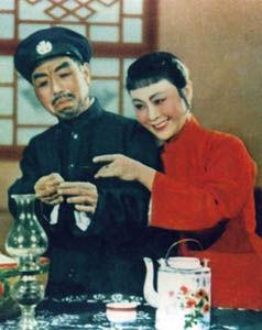 """云燕铭是第一位""""李铁梅""""(右)"""