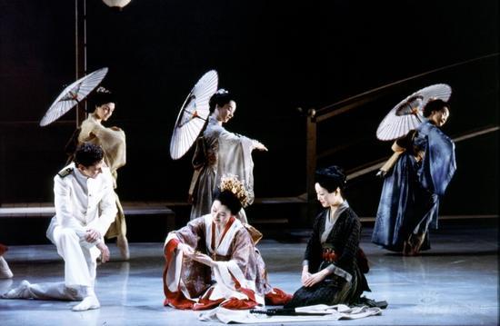 英国NBT芭蕾舞团携《蝴蝶夫人》来华巡演(组图)