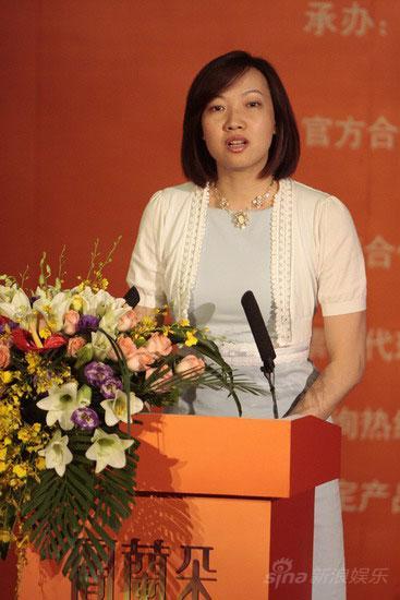 图文:中信联合体体育馆运营有限公司副总杨蔚鹰