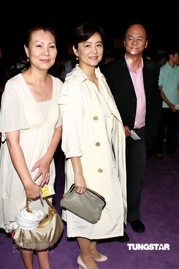 Brigitte Lin, Ti Lung and wife