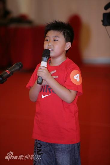 图文:图兰朵选中国小子-4号选手马宇晨