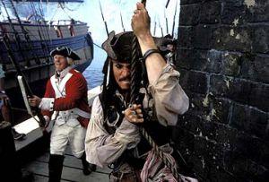 奥斯卡百大经典表演之一--约翰尼-德普《加勒比海盗》