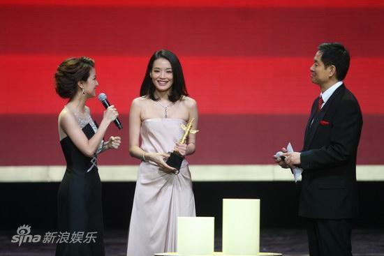 详讯:舒淇凭《非诚勿扰》获优秀境外华裔女演员奖