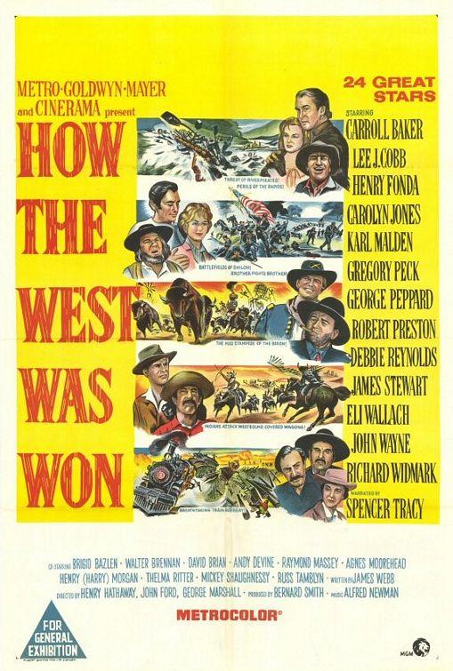 资料:米高梅经典电影--《西部开拓史》