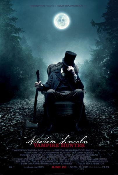 《吸血鬼猎人林肯》海报