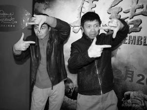 《集结号》主题蜡像馆揭幕冯小刚将再度拍喜剧