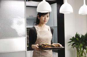 余男:《双食记》里我用美食搞垮了吴镇宇(图)
