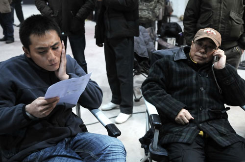 Liu Ye and director Yin Li