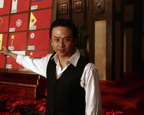 邓超《建国大业》造型曝光出演画家徐悲鸿(图)