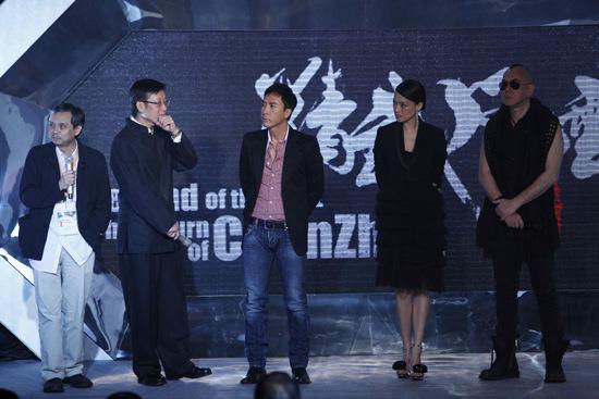 甄子丹舒淇亮相香港影展《精武风云》受捧