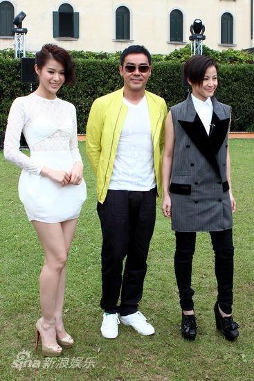 胡杏儿(左起)刘青云何韵诗