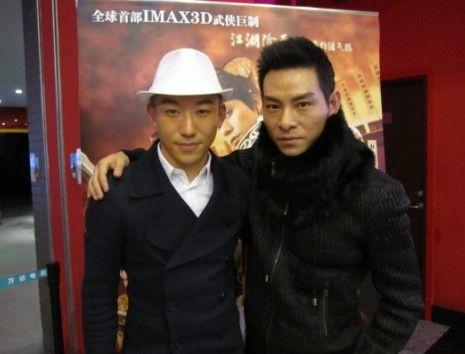 吴迪(左)杜奕衡