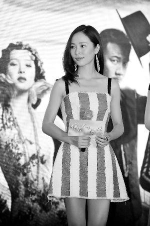 江一燕在剧中出演歌女宋永芳