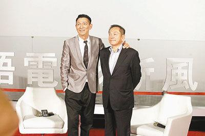 刘德华与江志强均表示是否愿意投资某个新导演,主要在于其是否兼具人品与才华。