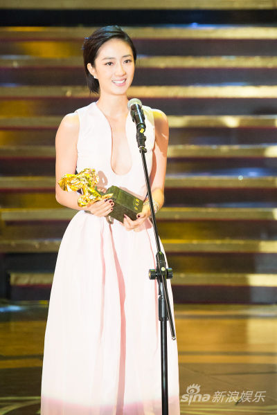 桂纶镁凭借《女朋友・男朋友》获第49届金马奖最佳女主角(资料图)
