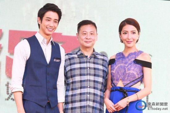 张世日前带领刘以豪、杨谨华出席电影《活路》发布会。(图/记者黄克翔摄)