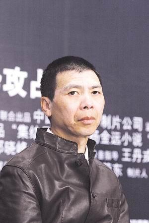 """《集结号》转战上海""""兄弟""""们面露疲态(组图)"""