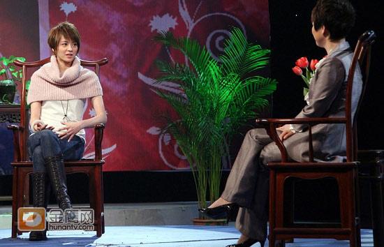 梁咏琪难忘旧爱郑伊健七年热恋变挚友(组图)