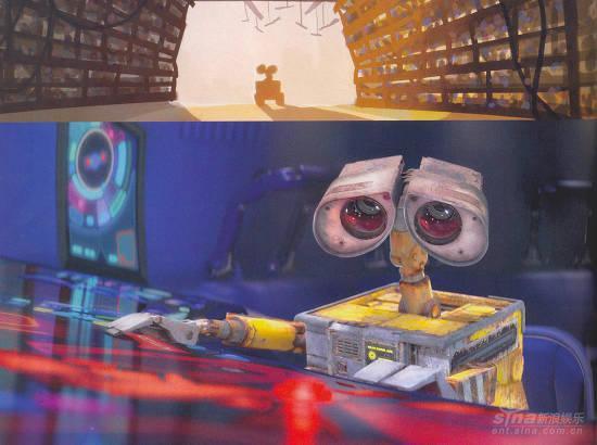 皮克斯动画电影《WALL-E》最新剧照曝光(图)