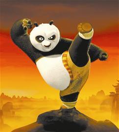 """""""中国国宝""""征服好莱坞《功夫熊猫》票房夺冠"""