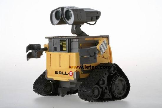 《机器人瓦力》玩具之智能版瓦力介绍