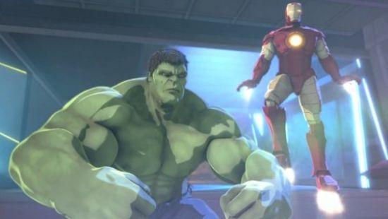 巨人大战钢铁侠_钢铁侠绿巨人结《英雄联盟》发预告搞笑片段