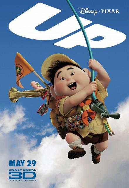 组图:《飞屋历险记》角色海报老小兵相映成趣