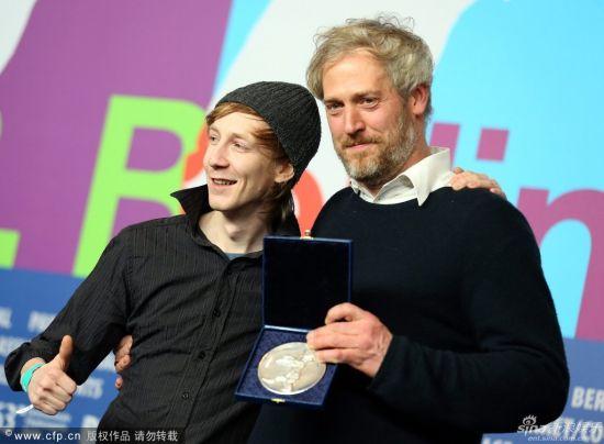 斯蒂芬-克里克豪(右)和杰克布-比伯