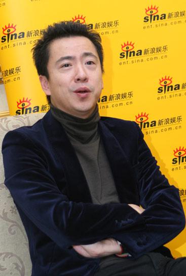 图文:王中磊刘璐对话新浪王中磊解密首映庆典