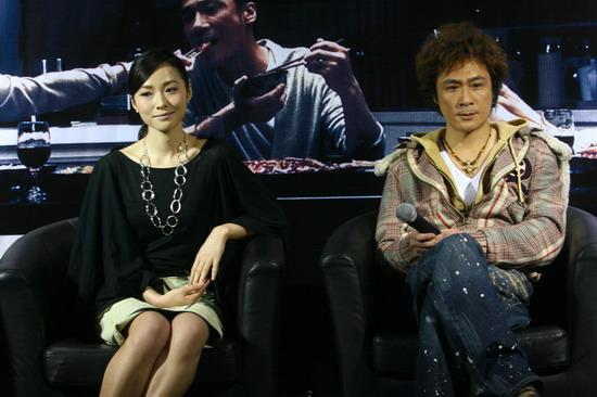图文:《双食记》首映--吴镇宇江一燕
