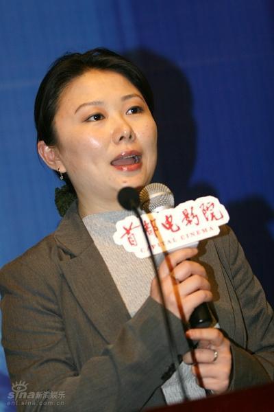 图文:《一奥》官网启动-太合影业总经理韩小凌