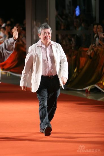 图文:《画皮》首映红毯-文隽为老友陈嘉上助阵