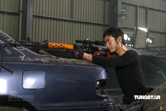 The Sniper - villain Huang Xiaoming