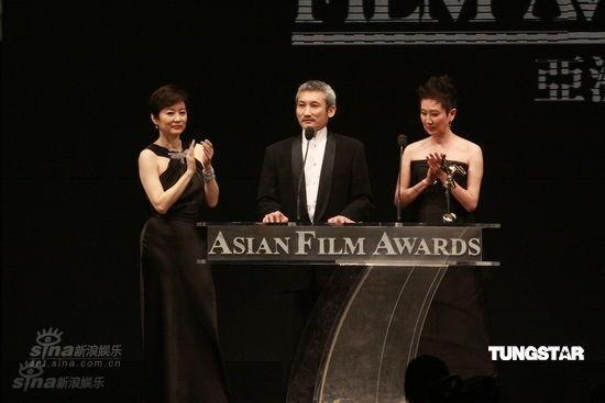 Brigitte Lin, Tsui Hark and Nansun Shi