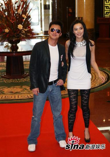 Wu Jing and Monica Mok