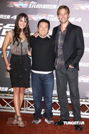 图文:《速度与激情》台湾上映-主创三人一同亮相