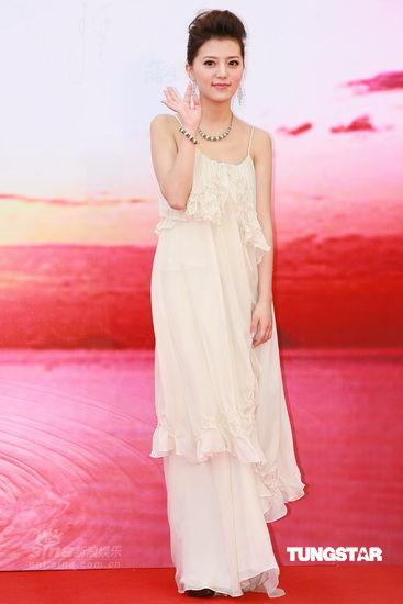 图文:金像奖红毯--阿兰获最佳歌曲提名