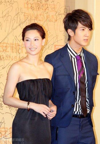 图文:上海电影节开幕--吴尊帅气徐子珊性感