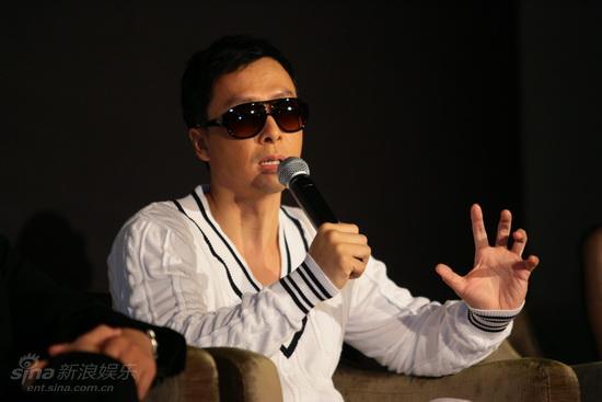 图文:《叶问2》发布会-甄子丹侃侃而谈