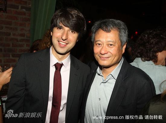 图文:李安新片派对--迪米特利-马丁和李安