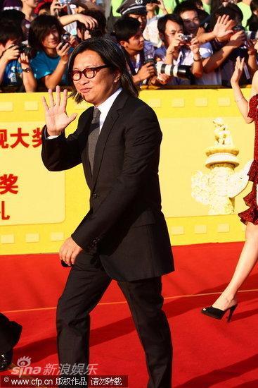 图文:第13届华表奖红毯-陈可辛亮相