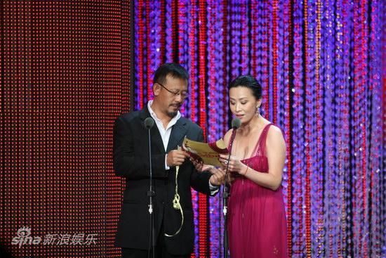 图文:第13届华表奖现场-姜文刘嘉玲开奖