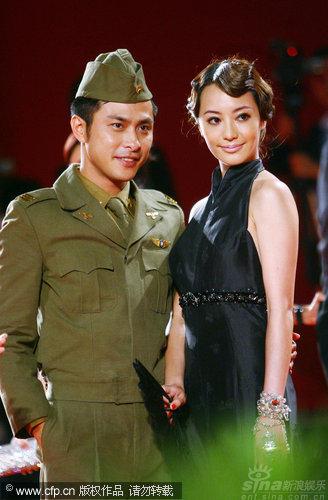图文:《泪王子》首映红毯-范植伟关颖很默契
