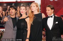 组图:威尼斯电影节闭幕红毯李安史泰龙成亮点