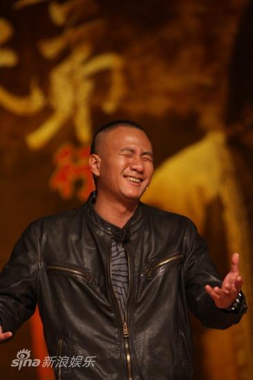 图文:《唐朝兄弟》北大首映-胡军狂笑